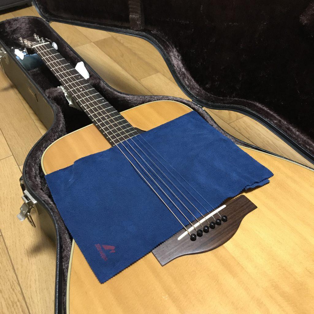 ギター湿度管理