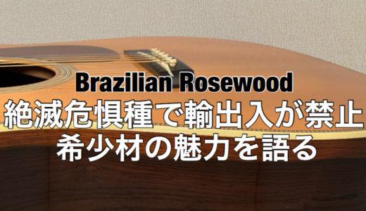 ブラジリアンローズウッド(ハカランダ)の魅力を語る